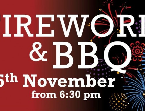 Fireworks & BBQ – Sunday 5th November