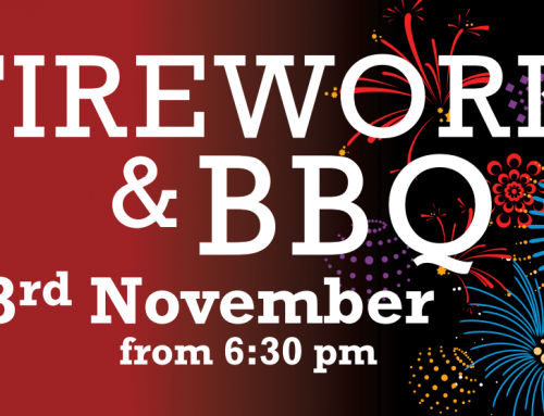 Fireworks & BBQ – Thursday November 3rd