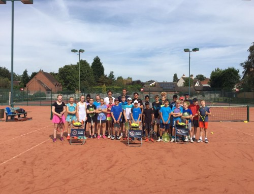 Register now for Junior Tennis Coaching – Autumn Term 2018