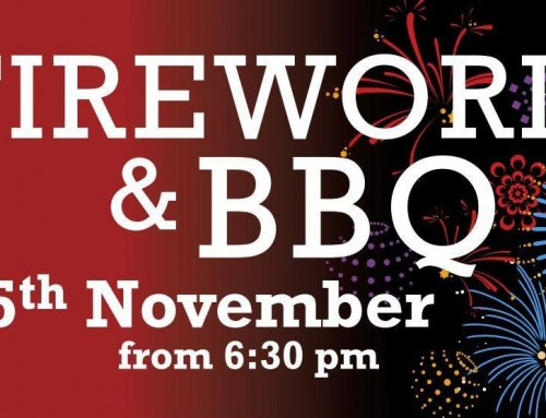 Fireworks & BBQ – Monday 5th November 2018