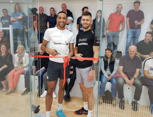 Brand New Squash Court and Renovated Clubhouse Unveiled