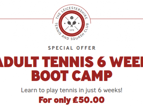 Adult Tennis 6 Week Boot Camp